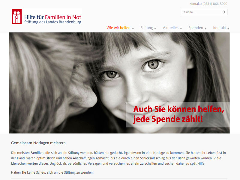 Stiftung Familie in Not