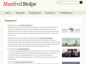Manfred Stolpe